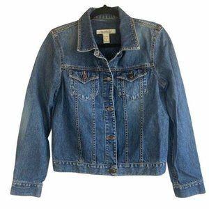 Abercrombie & Fitch Trucker Denim Jacket SZ Medium